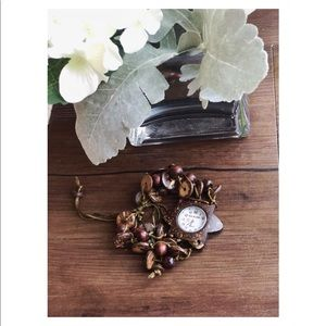 Accessories - Boho coconut shell watch